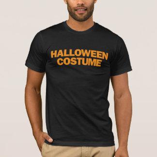 Halloween Costume Orange T-Shirt