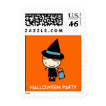 Halloween Costume Party Holiday Postage