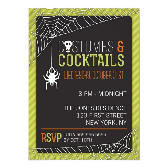 Halloween Costume Party Invitation – Halloween Costume Party Invite