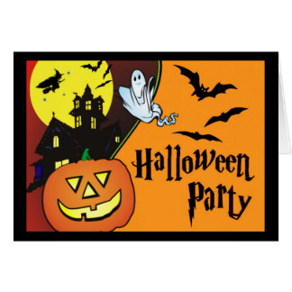 Halloween Costume Party Invitation for Kids Stationery Note Card