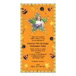 Halloween Costume Party Invitation Photo Card
