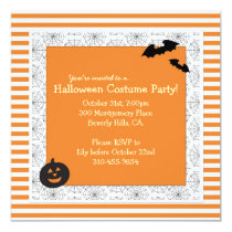 Halloween Costume Party Invitation - Square