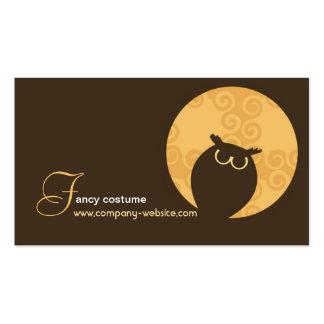 Halloween Costume Shop Business Card