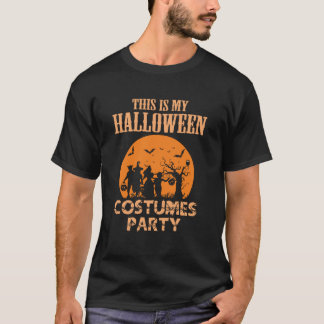 Halloween Costumes Party tshirt