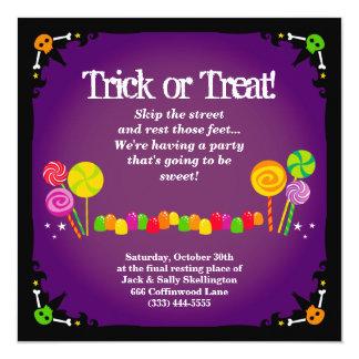 Halloween Cottage Invitation