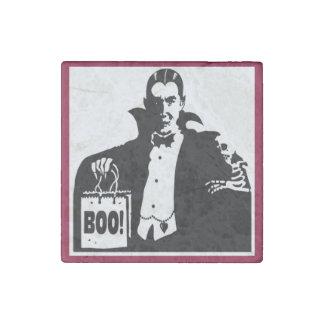 Halloween Count Dracula Stone Magnet