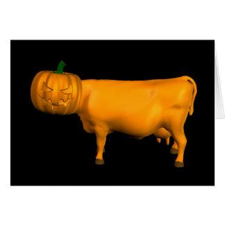 Halloween Cow Card