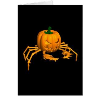 Halloween Crab Card