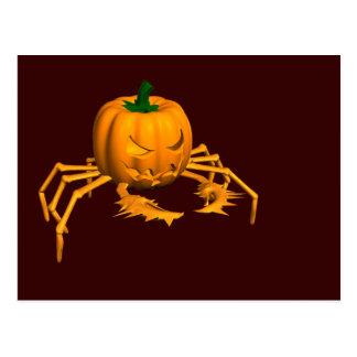 Halloween Crab Postcard