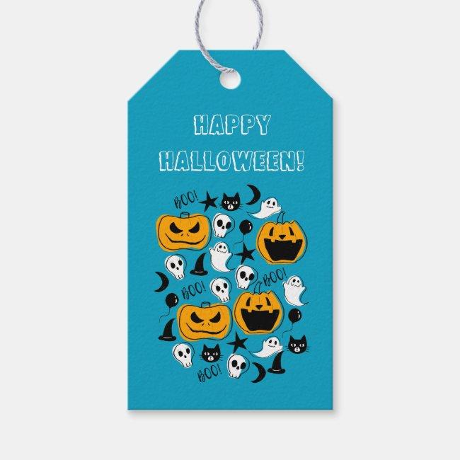 Halloween Creatures Illustration