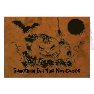 Halloween Creepers Card