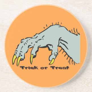Halloween Creepy Hand Coaster