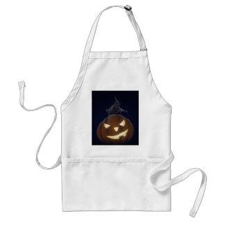 Halloween creepy night aprons
