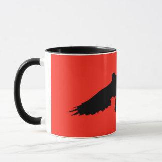Halloween Crow Card Mug