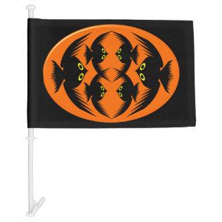 Halloween Crows Custom Car Flag