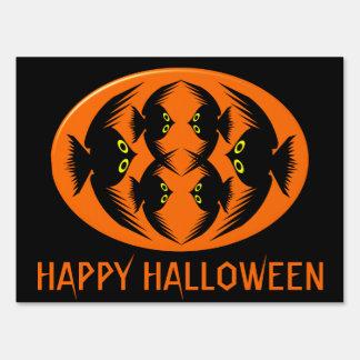 Halloween Crows Custom Sign