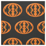 Halloween Crows patterned Fabric