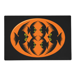 Halloween Crows Personalized Placemat Laminated Placemat