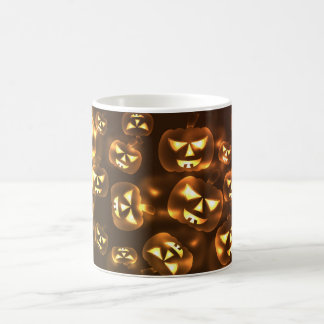 Halloween cup pumpkins