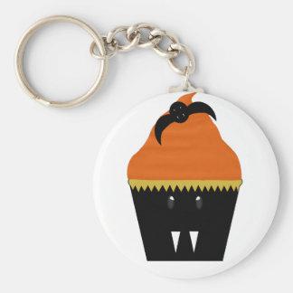 Halloween Cupcake Bat Keychain