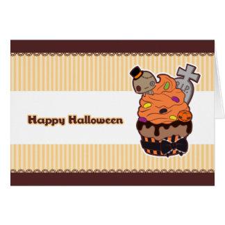 Halloween Cupcake Card