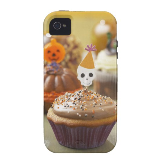 Halloween cupcake Case-Mate iPhone 4 case