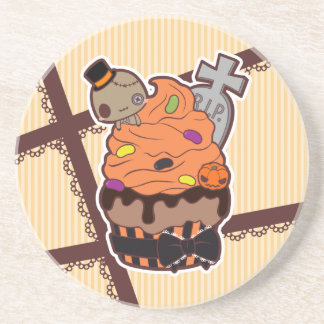 Halloween Cupcake Coaster
