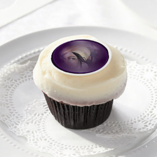 Halloween Cupcake/Cookie Decorations MARIE LAVEAU Edible Frosting Rounds