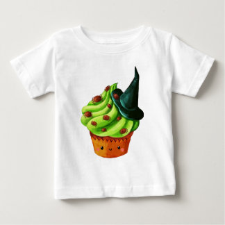 Halloween Cupcake full of tiny spiders Baby T-Shirt