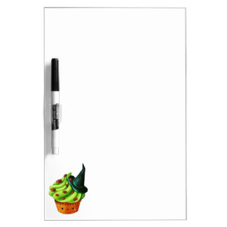Halloween Cupcake full of tiny spiders Dry-Erase Whiteboards