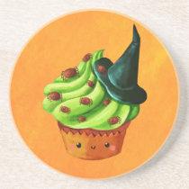 artsprojekt, halloween, cupcake, halloween cupcake, spiders, halloween dessert, halloween gift, cute halloween, cute food, cute cupcake, witch, witch gift, witch present, halloween present, cupcake gift, cupcake presen, trick or treat, halloween idea, halloween design, cute dessert, kawaii cupcake, kawaii, kawaii halloween, Descanso para copos com design gráfico personalizado