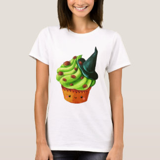 Halloween Cupcake full of tiny spiders T-Shirt