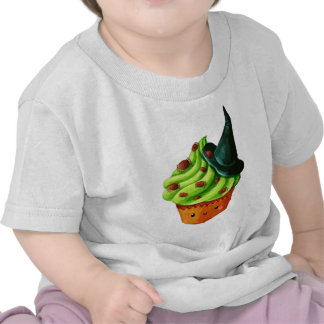 Halloween Cupcake full of tiny spiders T Shirts
