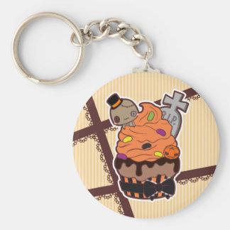 Halloween Cupcake Keychain