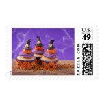Halloween Cupcake Postage Stamp