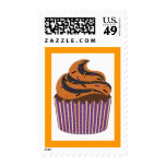 Halloween Cupcake Postage Stamps