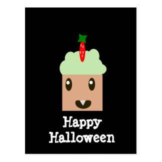 Halloween Cupcake Postcard