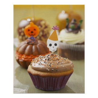 Halloween cupcake posters