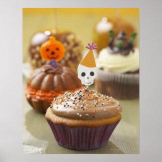Halloween cupcake posters