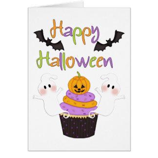 Halloween Cupcake Sign Card