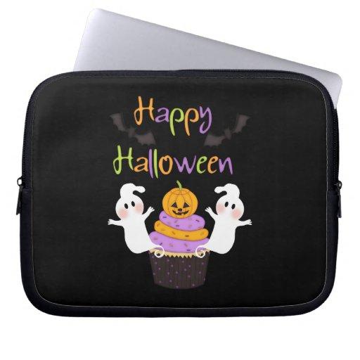 Halloween Cupcake Sign Computer Sleeves