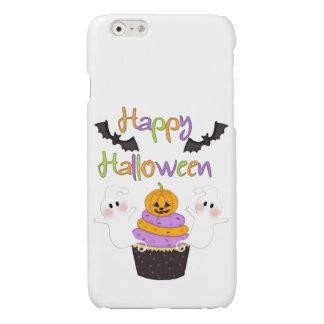 Halloween Cupcake Sign Glossy iPhone 6 Case
