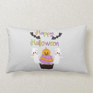 Halloween Cupcake Sign Lumbar Pillow