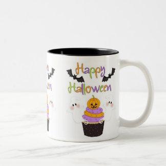 Halloween Cupcake Sign Coffee Mugs
