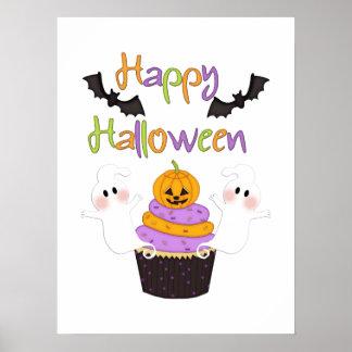 Halloween Cupcake Sign Print