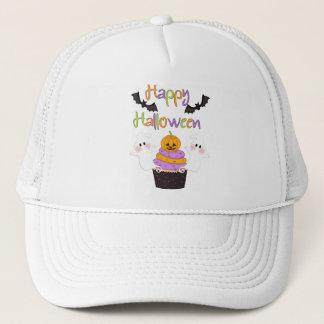 Halloween Cupcake Sign Trucker Hat