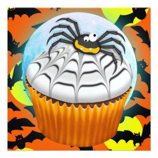 Halloween Cupcake - SRF Personalized Invitation