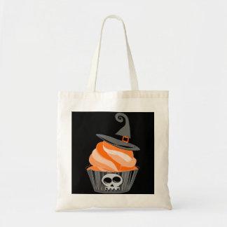 Halloween cupcake tote bag