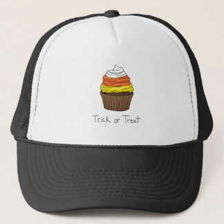 Halloween Cupcake - Trick or Treat Trucker Hat