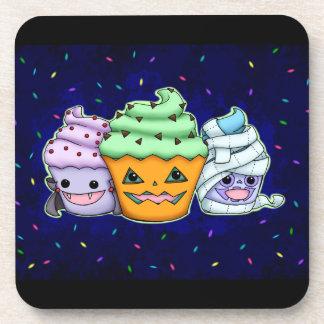 Halloween Cupcakes Drink Coaster